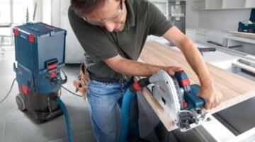 Bosch Professional GKT 55 GCE Handkreissäge FSN 1600 - 5