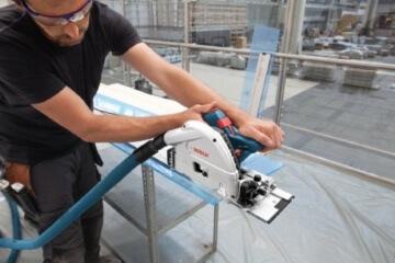 Bosch Professional GKT 55 GCE Handkreissäge FSN 1600 - 6
