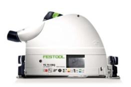 FESTOOL TAUCHSÄGE TS 75 EBQ-PLUS-FS 230V im neuen T-LOC Systainer mit Führungsschiene FS1400 - 1